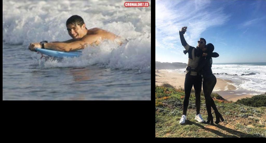 cristiano ronaldo guincho cascais surf