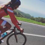 Vanessa Fernandes cycling Sintra hills
