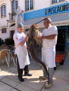 Pescador - a 41 kg Croaker